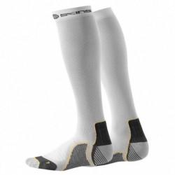 Compression knee socks Skins Active Unisex White