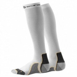 Compression knee socks Skins Active Unisex White
