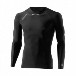 Man compression T-Shirt long sleeve A400 Bio charcoal