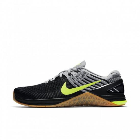 Man Nike Metcon DSX Flyknit - black green