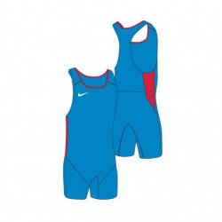 Man T-Shirtt Nike Weightlifting Singlet blue/sc
