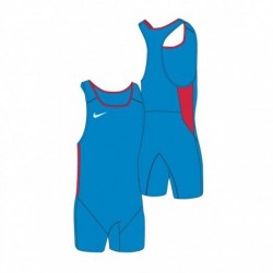 Woman suit Nike Weightlifting Singlet blue/scarlet