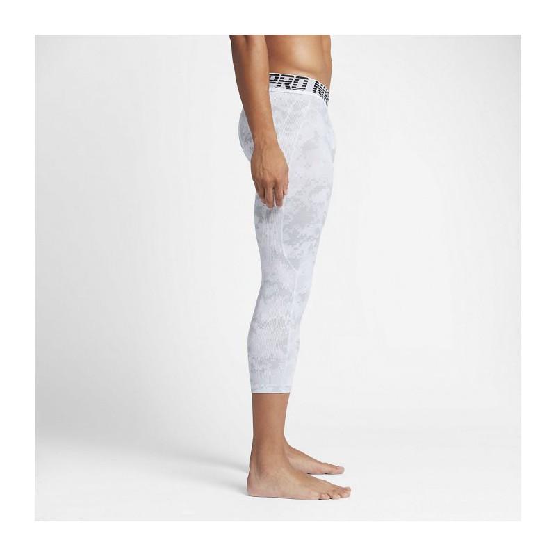 Pánské legíny Nike Pro Hyper - bílé - WORKOUT.EU 9057eadb61