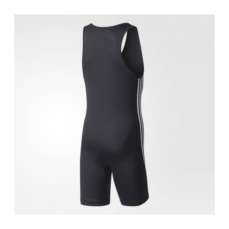 Pánský dres na vzpírání Suit Basic - černý