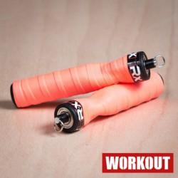 Rx Jump Rope - orange handle (pair)