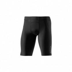 Pánské kompresní poloviční kalhoty Skins Bio A400 Black/Charcoal