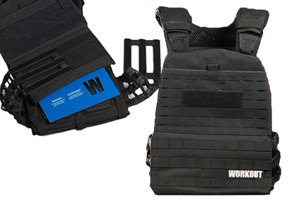 Tactical plate vest WORKOUT 2.0