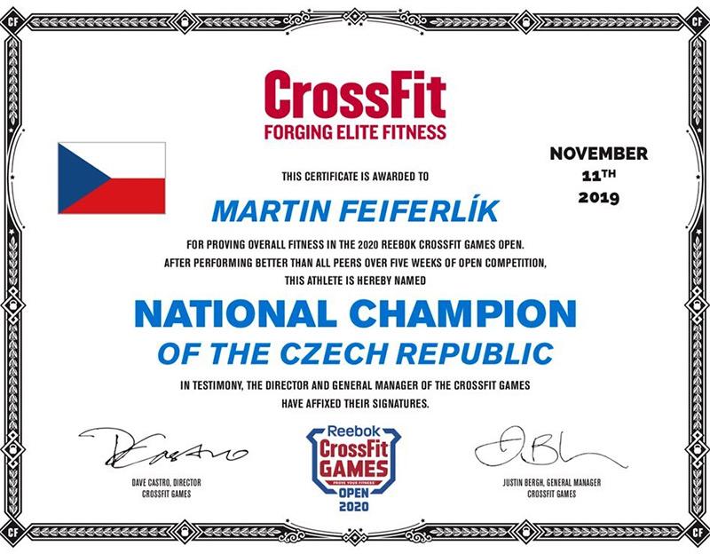 Martin Feiferlik CrossFit Games