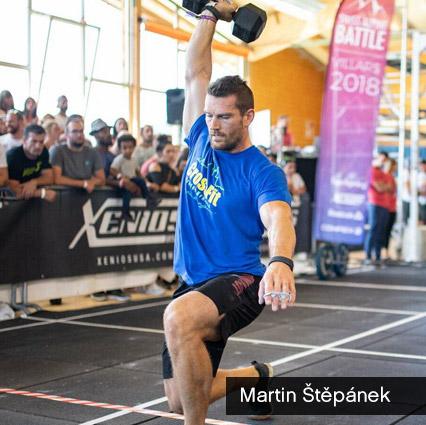 Martin Štěpánek - šortky Workout